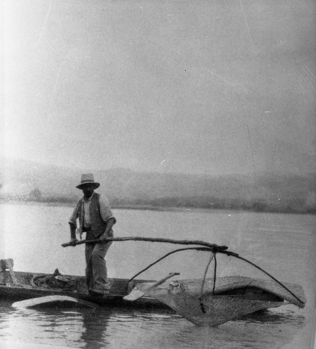 Fisherman on the Danube, early 20th century