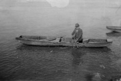 Fisherman Petrović at work, P. Momirović, 1938.