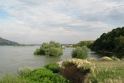 Diana-Karataš, coastal landscape today, downstream of the fortress – a territory of the Roman settlement